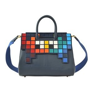 Anya Hindmarch Ephson Small Space Invaders bag